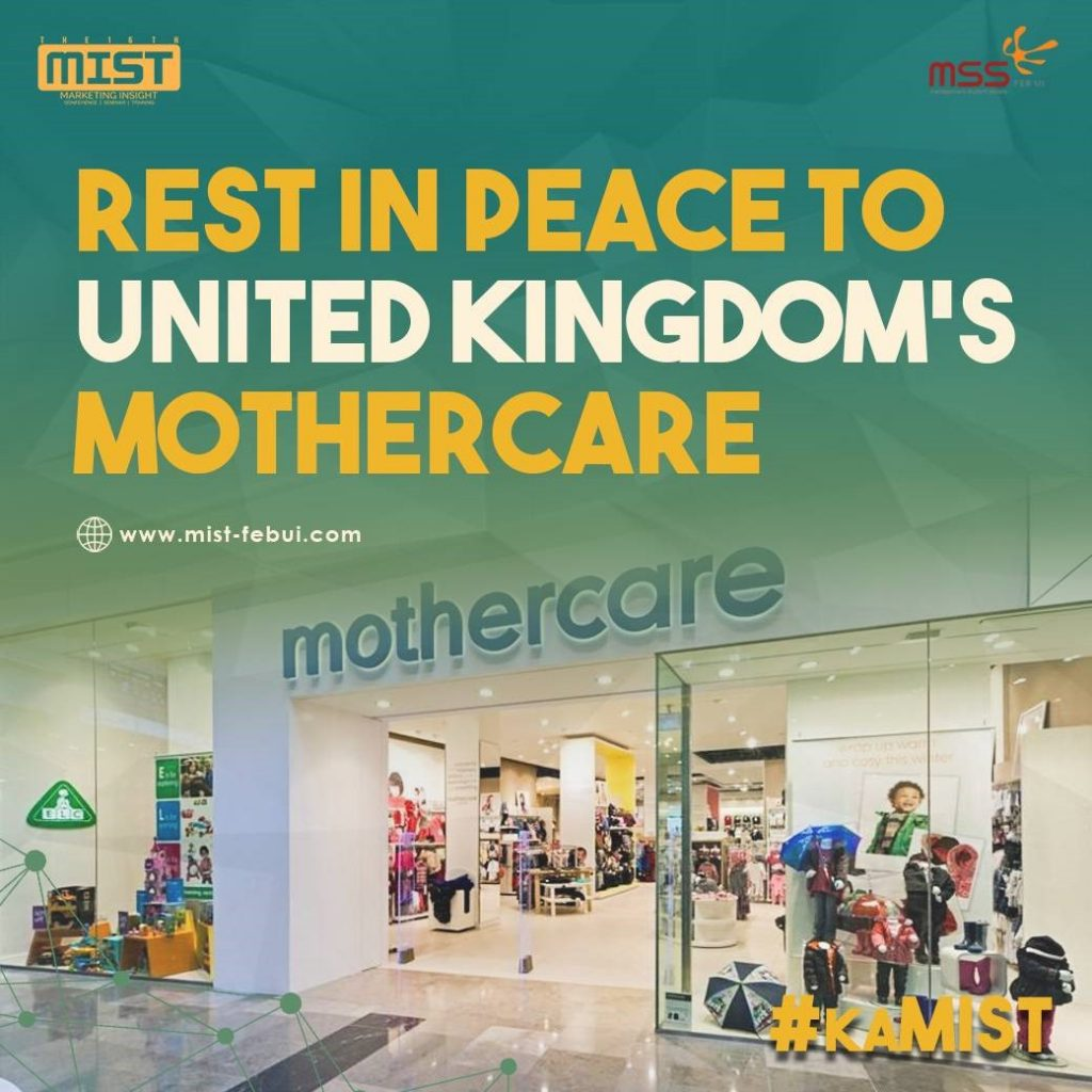 RIP UK's Mothercare
