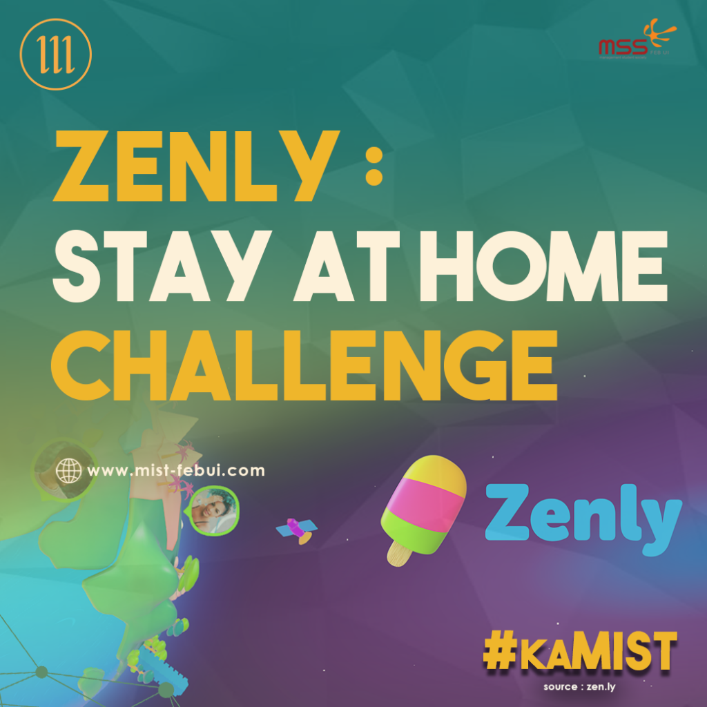 Zenly : Stay At Home Challenge