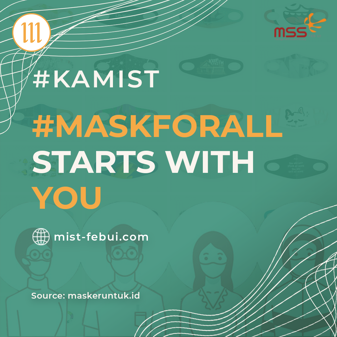 #MaskForAll Starts with You