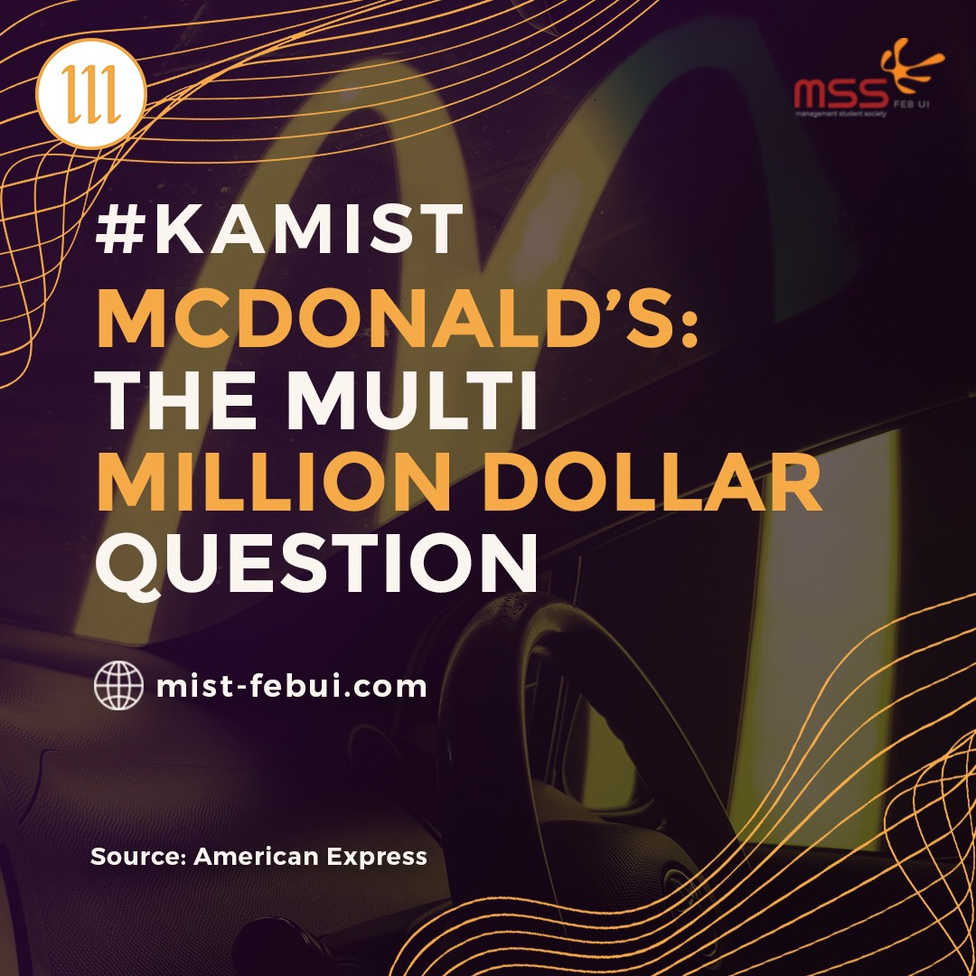 McDonald's: The Multi-million Dollar Question