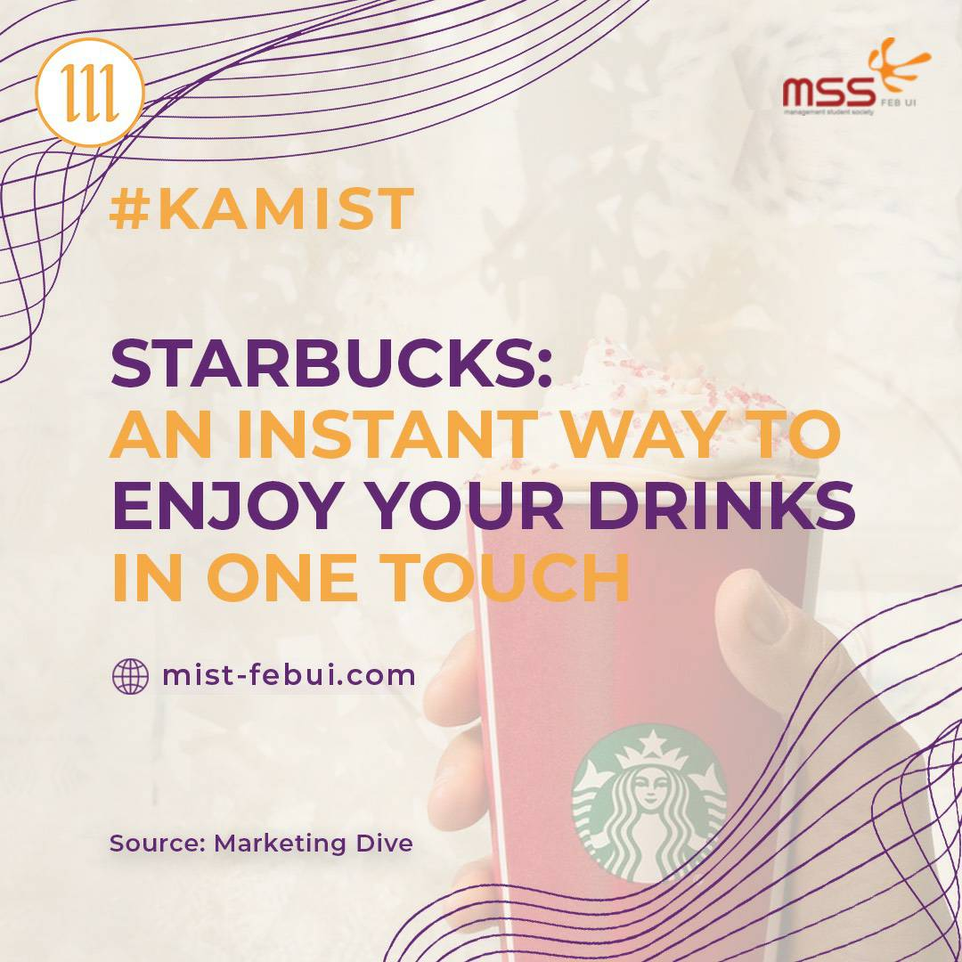 [Starbucks:An Instant Way to Enjoy Your Drinks in One Touch]