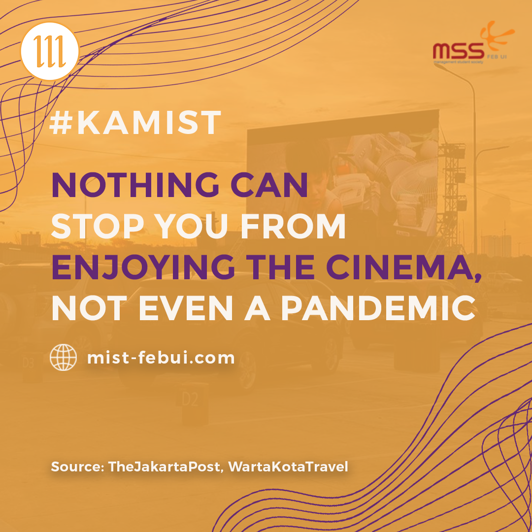 [Nothing can stop you from enjoying the cinema, not even a pandemic.]