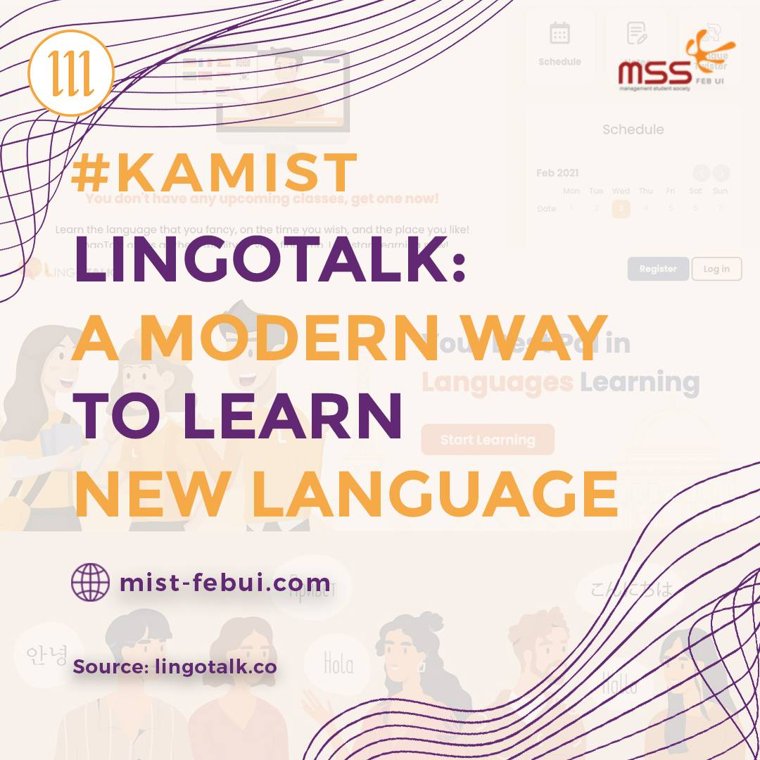 [LingoTalk: A Modern Way to Learn New Language]