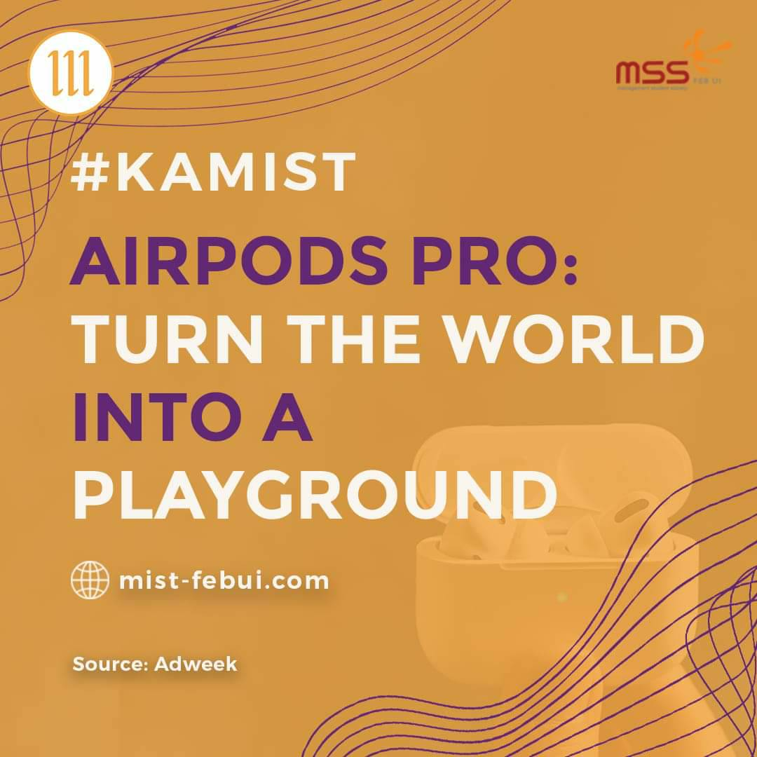 [AirPods Pro: Turn The World Into A Playground]