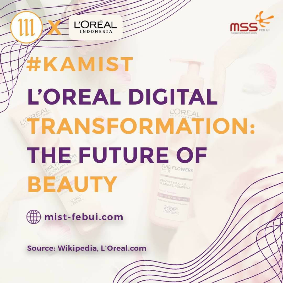 [L'Oreal Digital Transformation: The Future of Beauty]